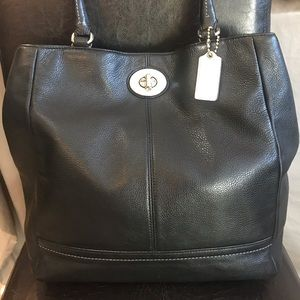 Coach Park Leather Tote